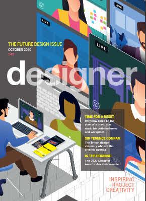 October 2020 – Designer Magazine – Designer Awards Finalists 2020