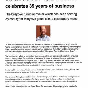 Bucks Herald - 35th Anniversary