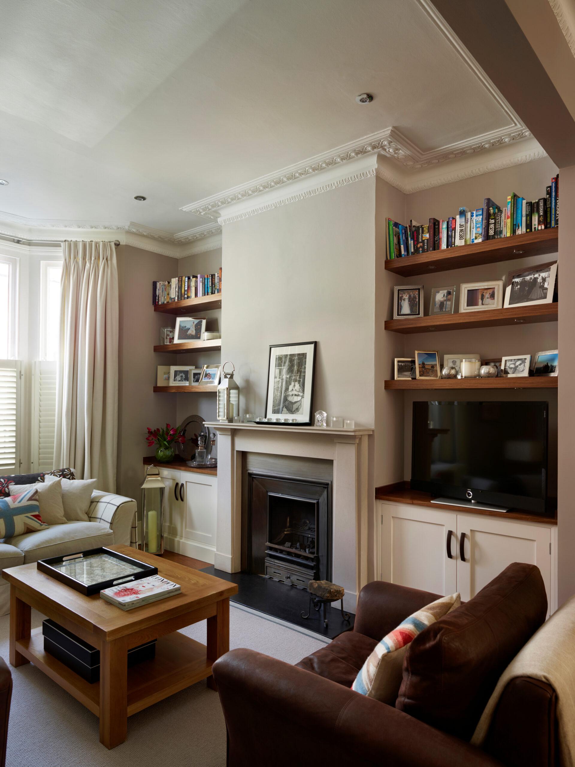 Bookshelves - Fulham Project