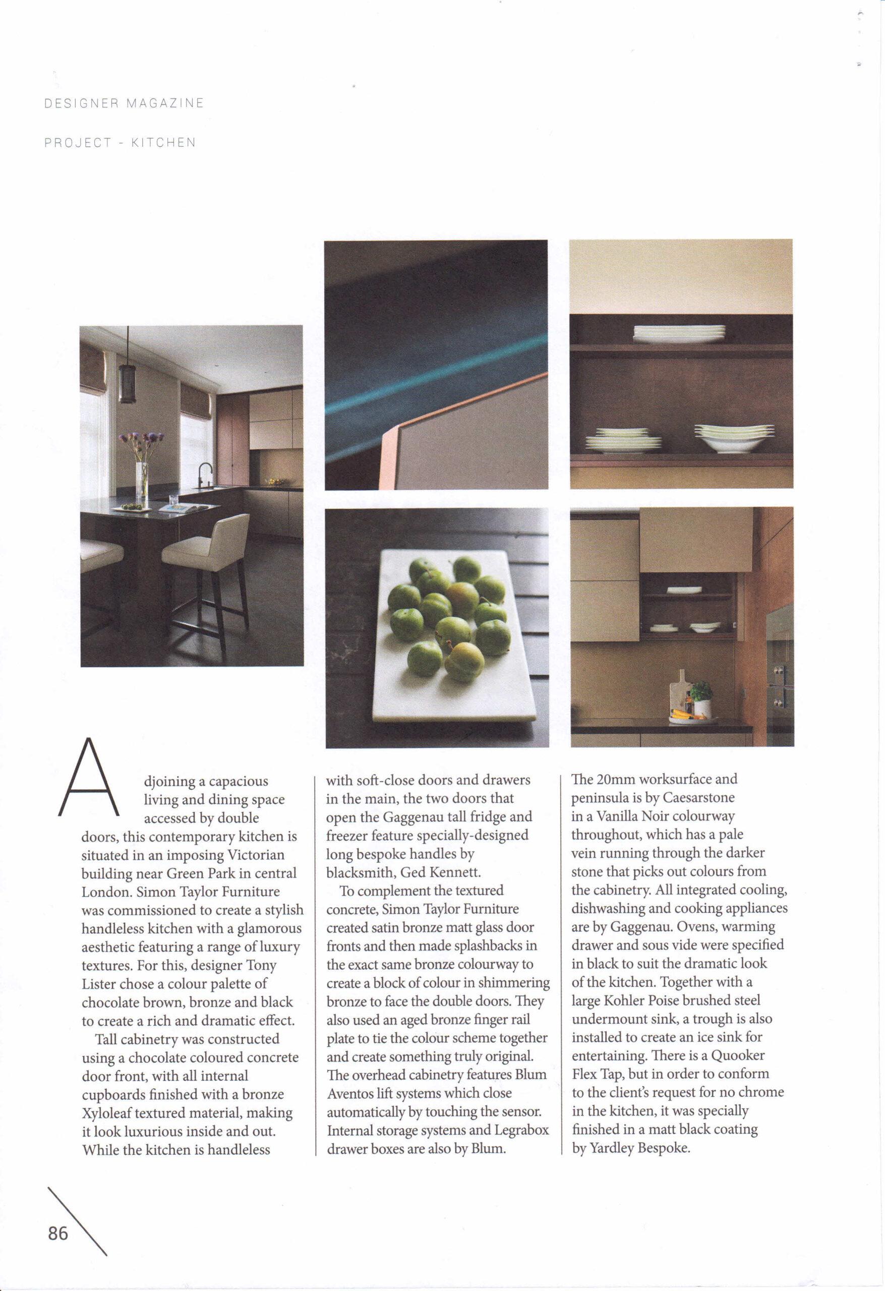Designer Magazine - Green Park Case Study 5