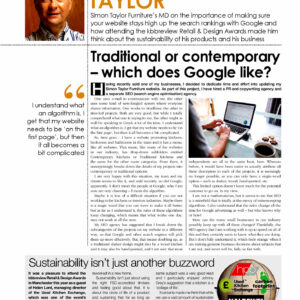 KBB Review - Simon Taylor Article