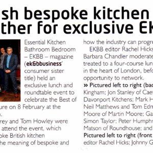 EK&B Business - Bespoke Britain Event