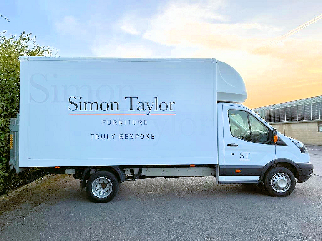 Simon Taylor Furniture - New Van Livery