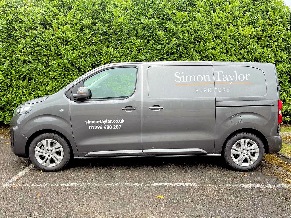 Simon Taylor Furniture p New Van Livery